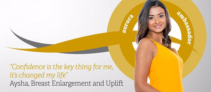 Aurora Ambassador: Breast Enlargement with Uplift