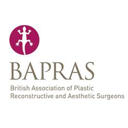 Aurora Clinics: BAPRAS logo